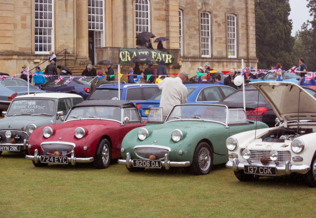 Cars at Kimbolton Country Fayre