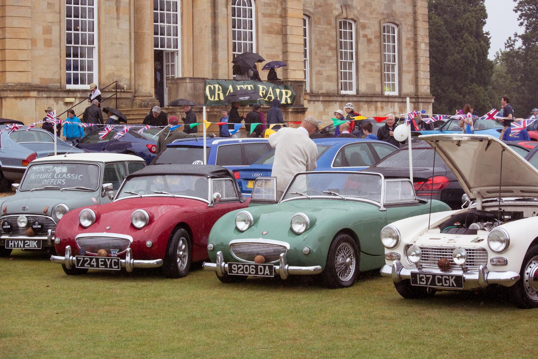 Cars at Kimbolton Country Fayre