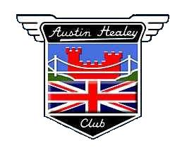 Austin Healey Club badge