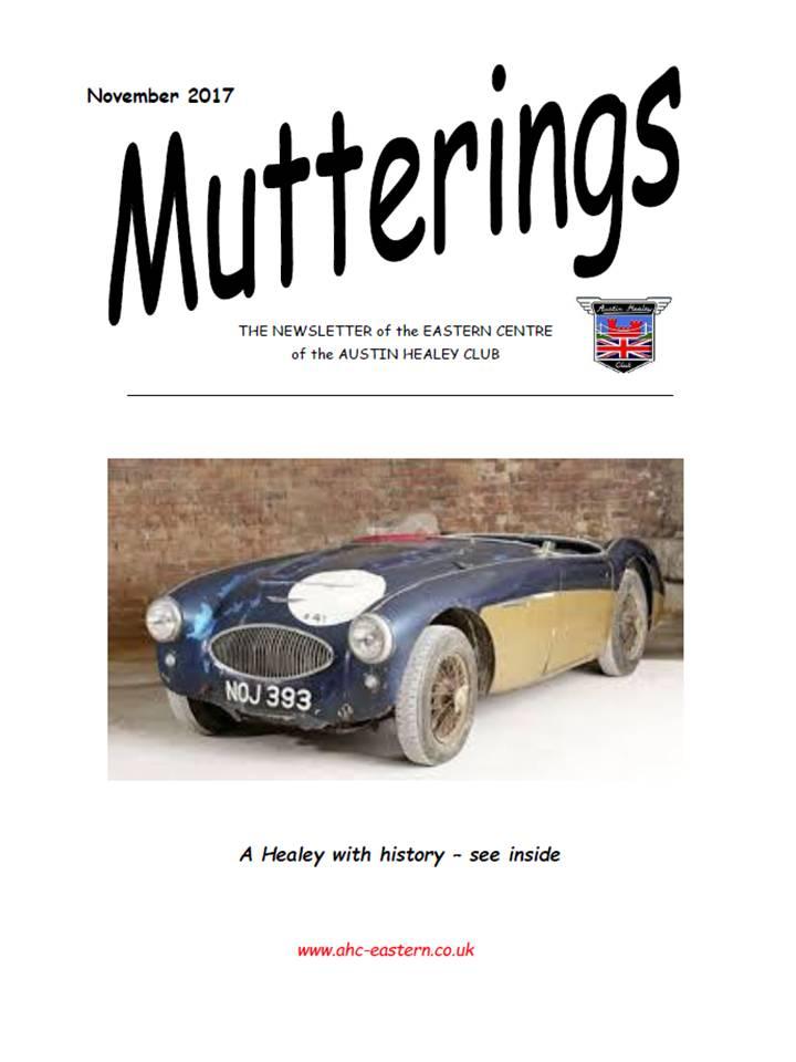 Mutterings Nov 2017 Edition