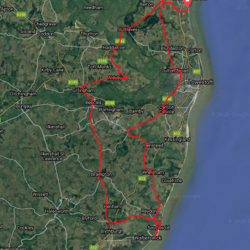 Gorleston-on-Sea – Southwold – Beccles