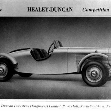 Warwick Healeys 1946-1955